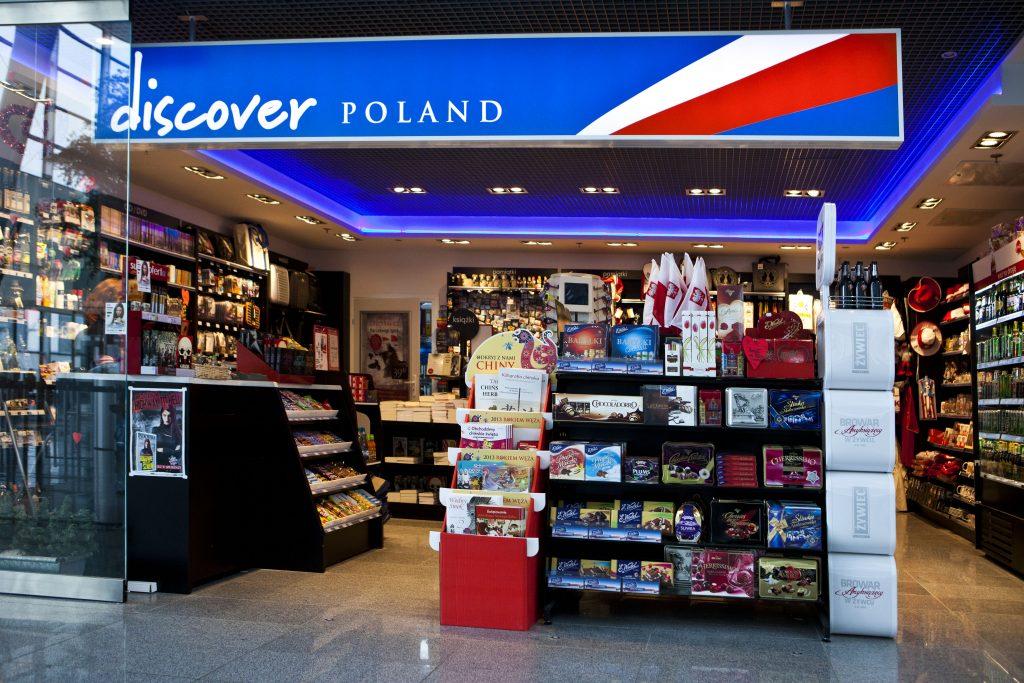 Discover Poland - sklep na lotnisku Wrocław