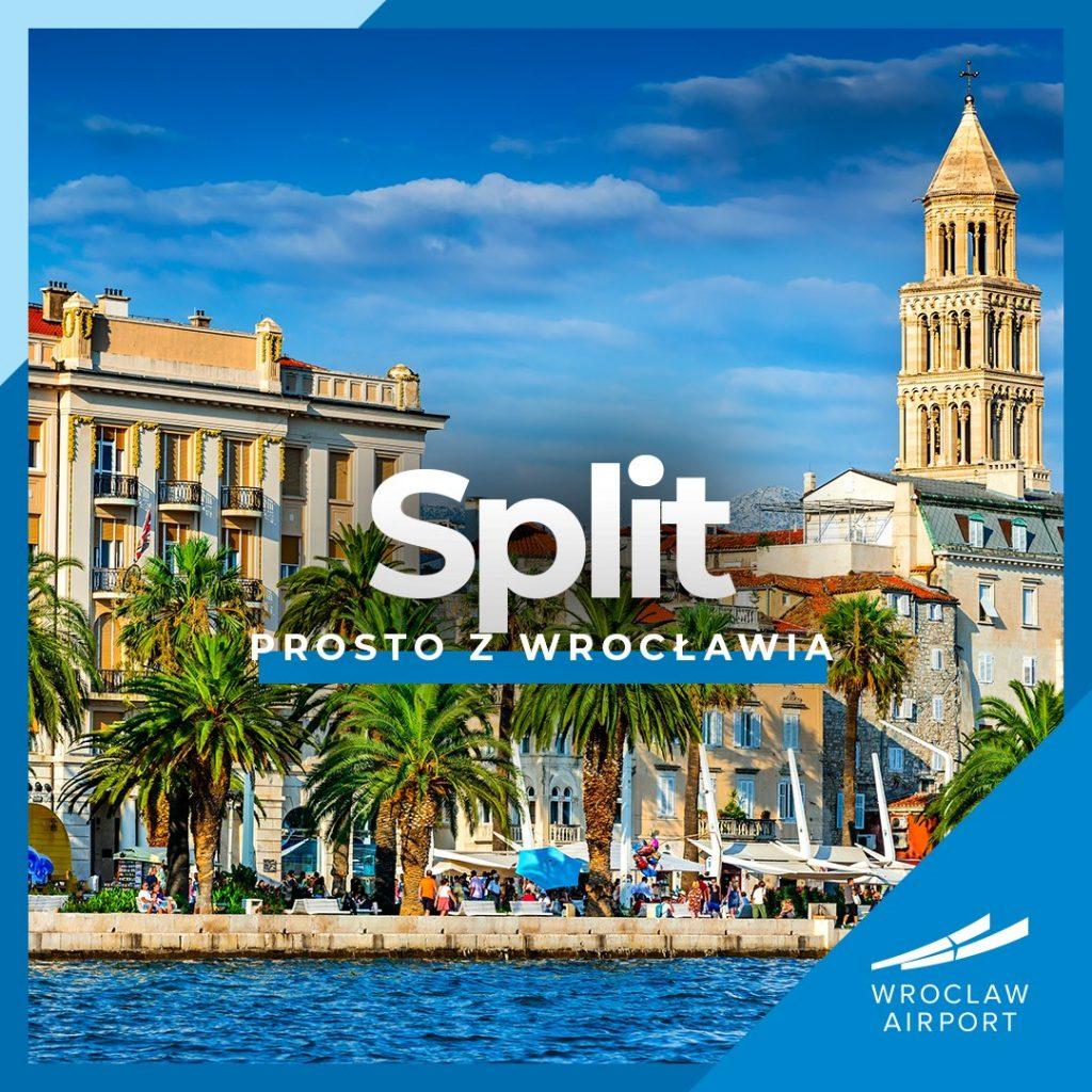 Do Splitu z Wrocławia - lot