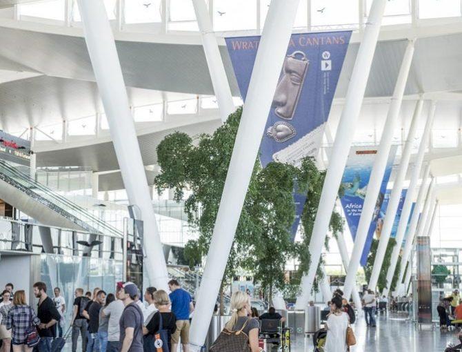 Odprawa bagażowa - lotnisko Wrocław