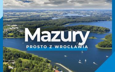 Nowość w letnim rozkładzie lotów! Z Wrocławia na Mazury.