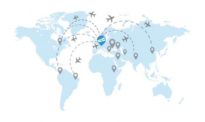 Mapa - Dokąd chcesz lecieć?