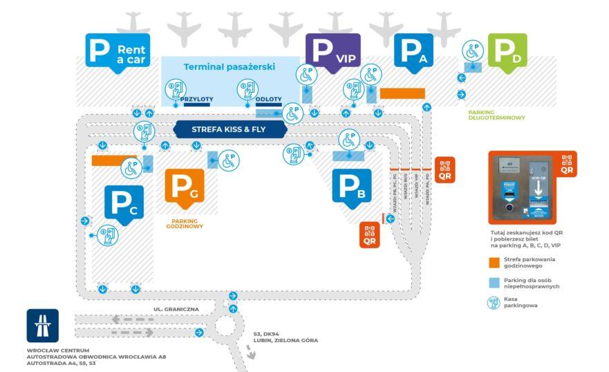 plan parkingu